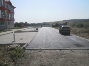 Reinforced surfaces – walkway, parking and driveway Klasov