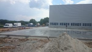 Reinforced surfaces – FRANK Nitra andHOECKLE Klasov production halls