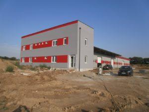 Production hall Frank Slovakia
