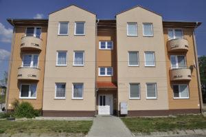 Rental apartment buildings 2 x 7 units – Bajč
